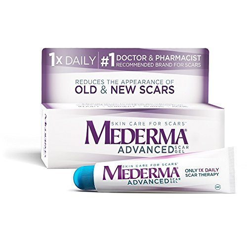 Mederma - Mederma Advanced Scar Gel - 1x Daily: Use less, save more - Reduces the Appearance of Old & New Scars - #1 Doctor & Pharmacist Recommended Brand for Scars -0.7 ounce