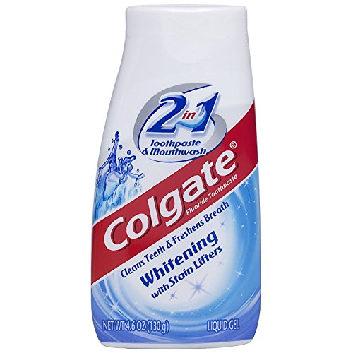 Colgate - Colgate 2-in-1 Whitening With Stain Lifters Toothpaste 4.60 Oz (6 Packs)
