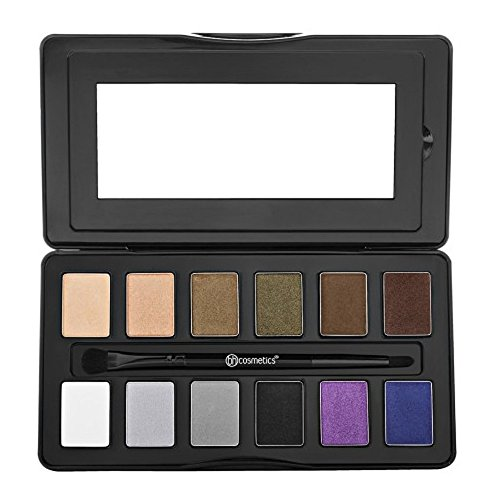 BHCosmetics - Nude Rose Night Fall 12 Color Eyeshadow Palette, 0.38 Pound
