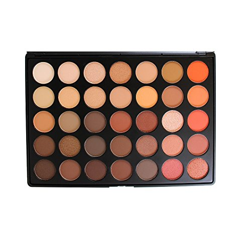 Morphe - 35 Color Nature Glow Eyeshadow Palette