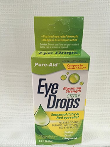 Eye Drops - Pure-Aid eye drops