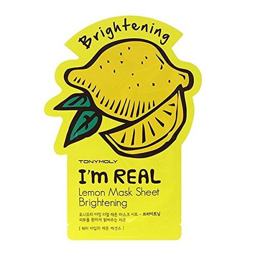 TonyMoly - I'm Real Lemon Brightening Mask Sheet