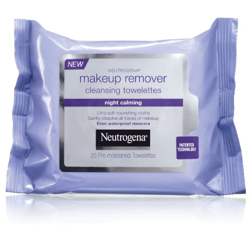 Neutrogena - Neutrogena Makeup Remover Cleasing Towelettes, Night Calming, 25 Count (Pack of 2)