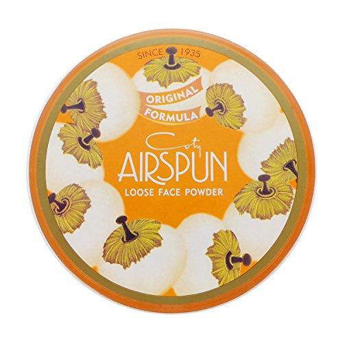 Coty Airspun - Coty Airspun Loose Face Powder Honey Beige 3 Pack