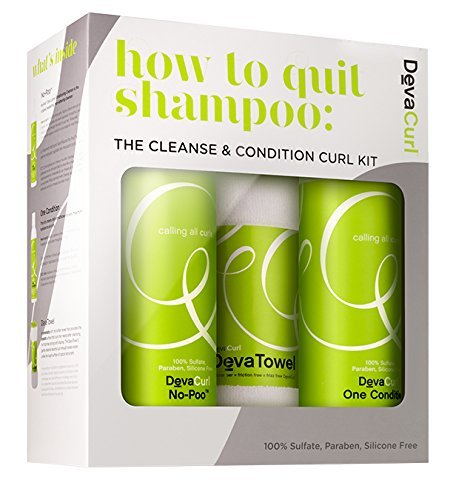 DevaCurl - How to Quit Shampoo: Cleanse & Condition Kit
