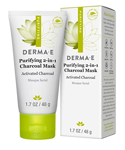 Derma-E - Purifying 2-in-1 Charcoal Face Mask with Activated Charcoal