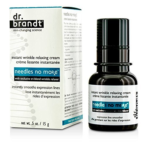dr. brandt - DR. BRANDT Needles No More Instant Wrinkle Relaxing Cream - 15G/0.5Oz