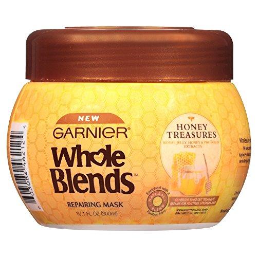 Garnier - Garnier Whole Blends Repairing Mask Honey Treasures, 10.1 Fluid Ounce