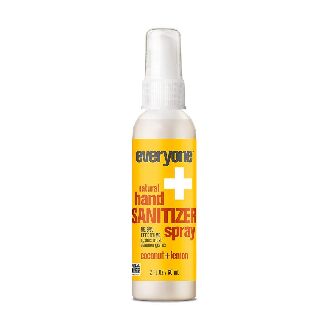 Everyone - Everyone Hand Sanitizer Spray, Coconut and Lemon, 2oz, 6 Count