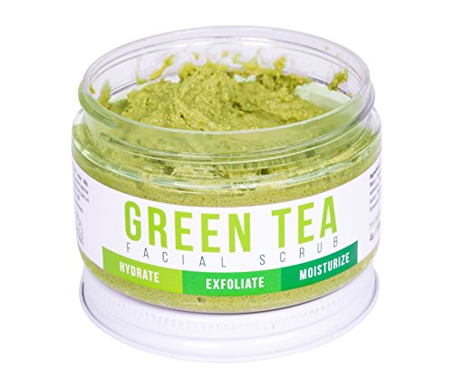 Teami - DETOX FACE SCRUB with Green Tea By Teami: Exfoliate, Hydrate, and Moisturize All Skin Types. Our Best Facial Scrubs with Organic Lemongrass for Blemishes & Exfoliating Sugar for Blackheads