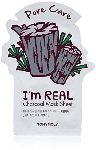 TonyMoly I'm Real Charcoal Pore Care Mask Sheet