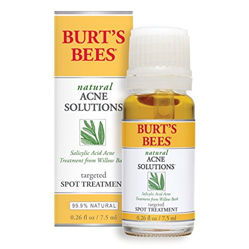 Burt's Bees - Burt's Bees Natural Acne Solutions Targeted Spot Treatment for Oily Skin, 0.26 Ounces