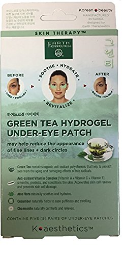 Earth Therapeutics - Earth Therapeutics Hydrogel Under Eye Recovery Patches - 1 Box/5 Pairs