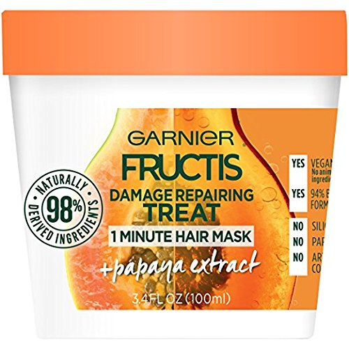 Garnier Fructis Damage Repairing 1 Minute Hair Mask, Papaya