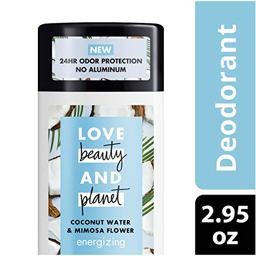 LBP DEO Love Beauty Planet Deodorant, Coconut Water and Mimosa Flower, 2.95 oz