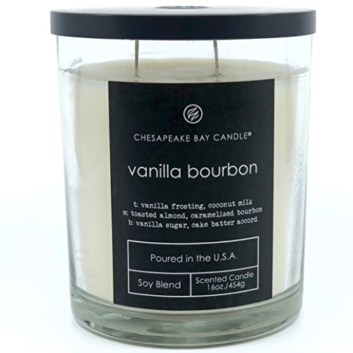 Chesapeake Bay Candle - Vanilla Bourbon Scented Candle