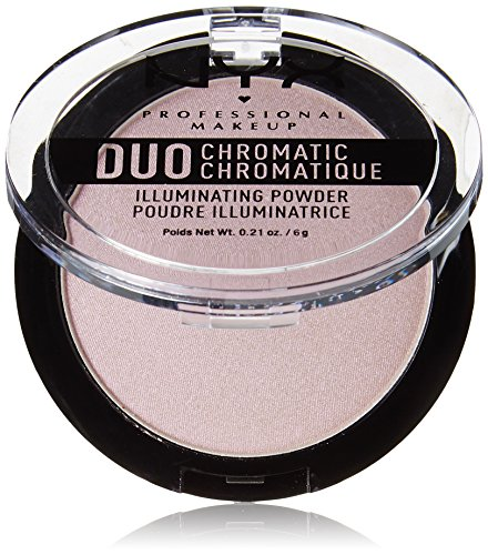NYX - Duo Chromatic Illuminating Powder, Lavender Steel