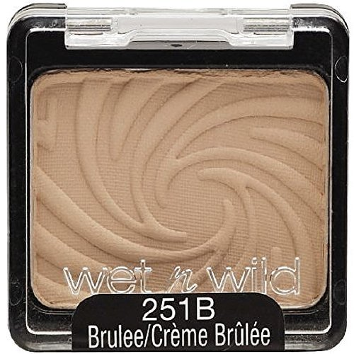 Wet n Wild - Wet n Wild Color Icon Eyeshadow Single, Brulee [251B] 0.06 oz (Pack of 5)