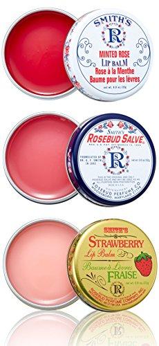 Smith's Rosebud Three Lavish Layers Lip Balm
