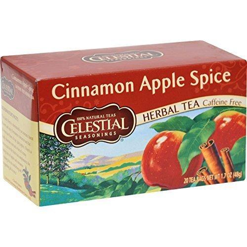 Celestial Seasonings - Celestial Seasonings Herb Tea Cinn Apple Spice 20 Bag