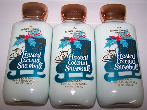 Bath & Body Works - Frosted Coconut Snowball Shea & Vitamin E Body Lotion