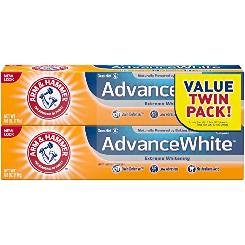 Arm & Hammer - Arm & Hammer Advance White Extreme Whitening Toothpaste, 6 oz Twin Pack (Packaging May Vary)