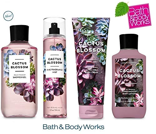 Bath and Body Works Cactus Blossom Deluxe Gift Set