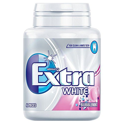 Extra Wrigley's Extra White Bubblemint - 46 per pack