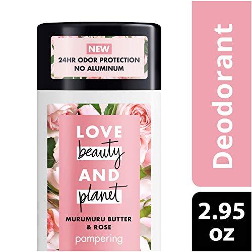 LBP DEO - Love Beauty Planet Deodorant, Murumuru Butter and Rose, 2.95 oz