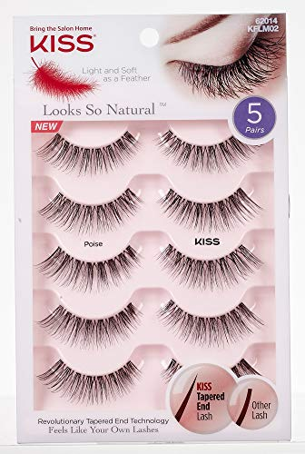 Kiss - Looks So Natural Lash Multipack