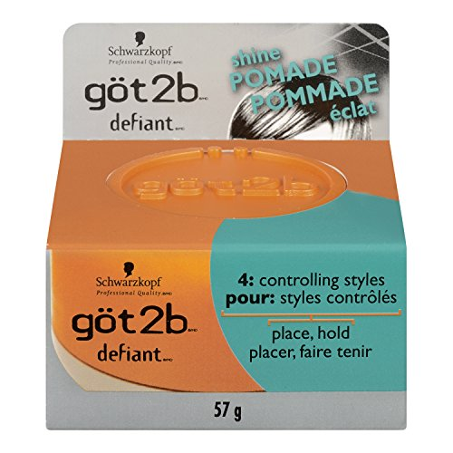 Got2B - Got2b Defiant Define and Shine Pomade, 2-Ounce (Pack of 2)