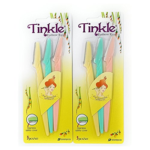 Tinkle Eyebrow Razor Pack