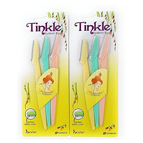 Tinkle - Eyebrow Razor Pack