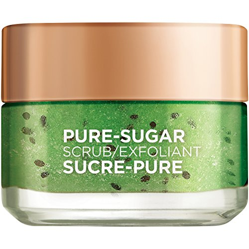 L'Oreal Paris -  Pure Sugar Face Scrub with Real Kiwi Seeds