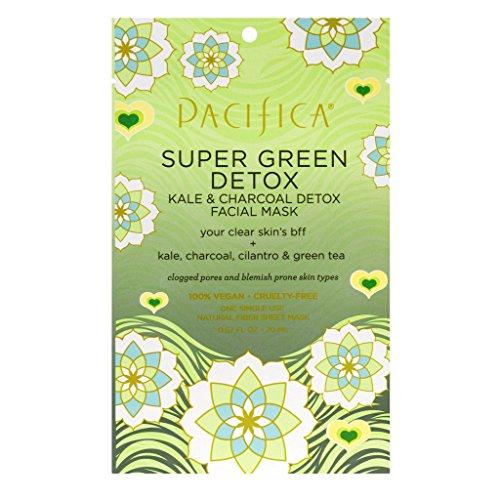 Pacifica - Super Green Detox Kale & Charcoal Facial Mask