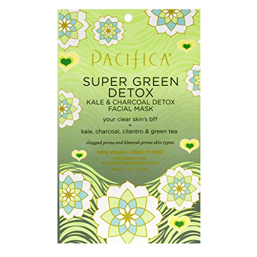 Pacifica - Super Green Detox Kale & Charcoal Facial Mask