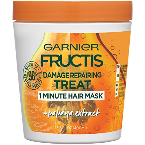 Garnier - Damage Repairing Treat 1 Minute Hair Mask With Papaya Extract