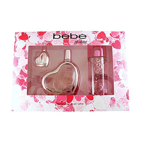 bebe - Bebe Sheer 3 Piece Eau de Parfum Spray Gift Set for Women