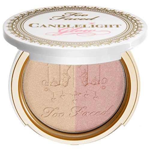 "Too Faced - Candlelight Glow Highlighting Powder Duo ""Rosy Glow"""
