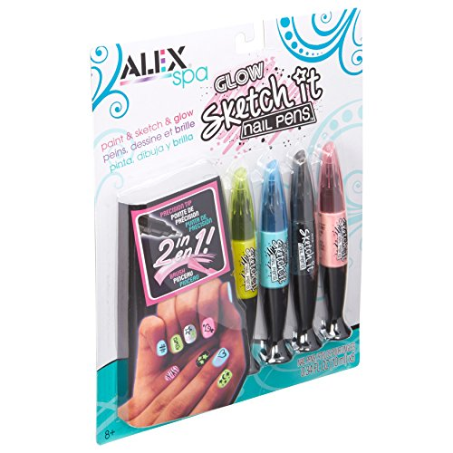 ALEX Toys - ALEX Spa Glow Sketch It Nail Pens