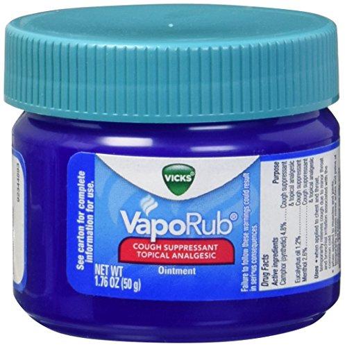 Vicks - Vicks VapoRub Ointment, 1.76 Ounces