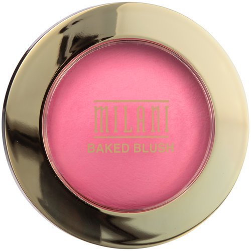 Milani - Milani Baked Blush, Delizioso Pink, 0.12 Ounce