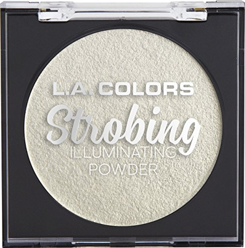 L.A. COLORS - L.A. COLORS Strobing Illuminating Powder, Gleaming Goddess, 1 Ounce