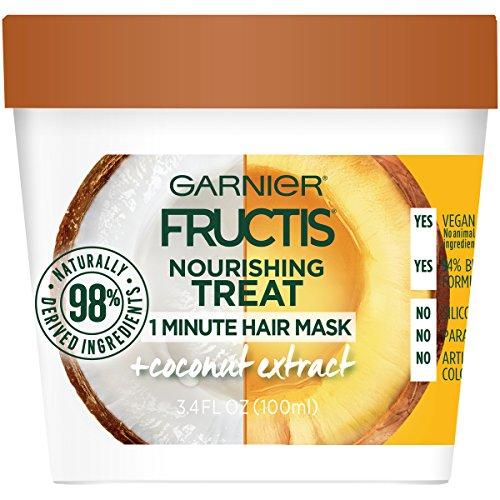 Garnier - Garnier Fructis Nourishing Treat 1 Minute Hair Mask, 3.4 fl. oz.