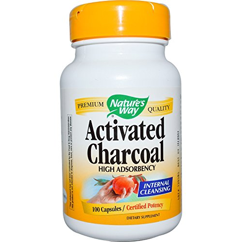 Nature's Way - Nature's Way Activated Charcoal; 560 mg Charcoal per serving; 100 Capsules