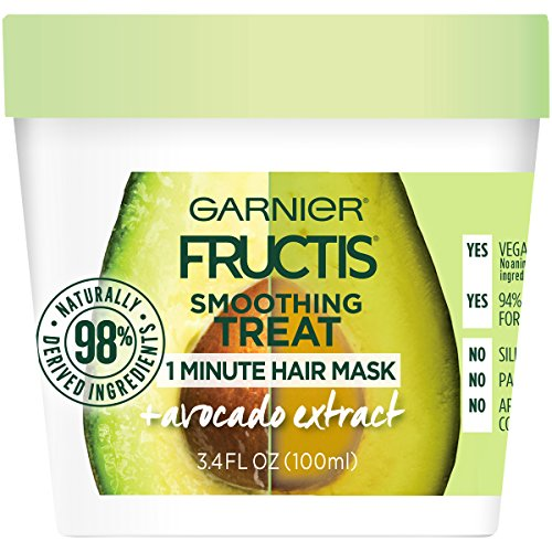 Garnier - Smoothing Treat 1 Minute Hair Mask + Avocado Extract