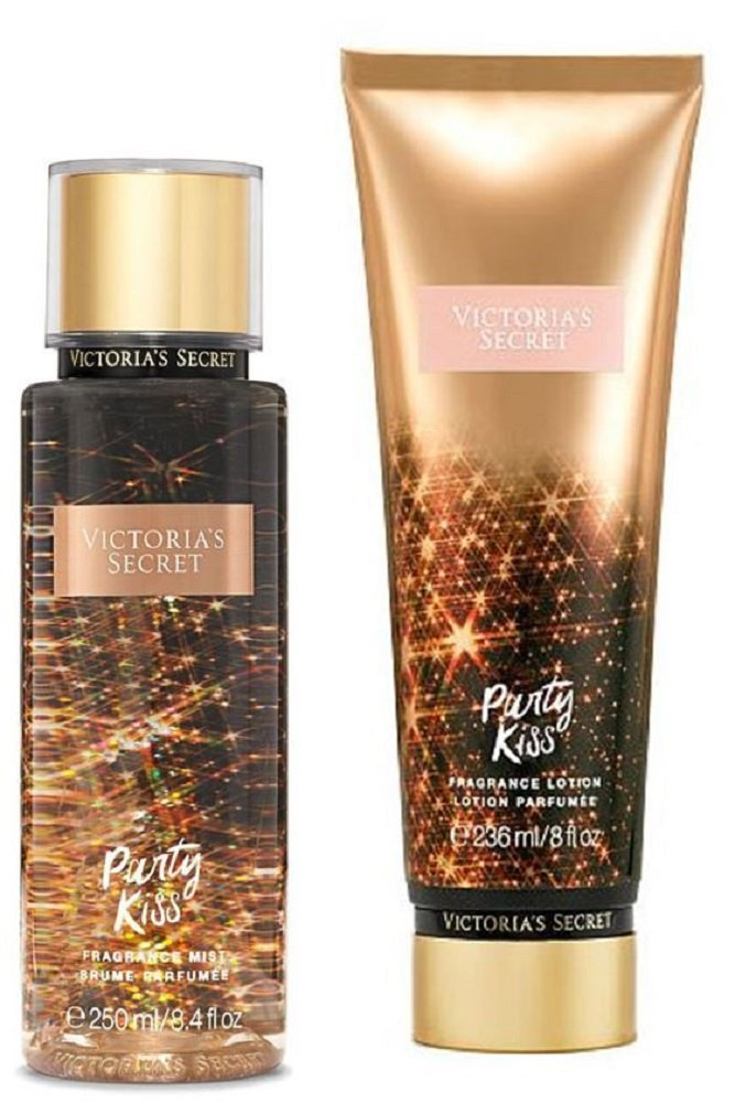 Victoria's Secret - Victoria's Secret Party Kiss Fragrance Mist and Body Lotion Set