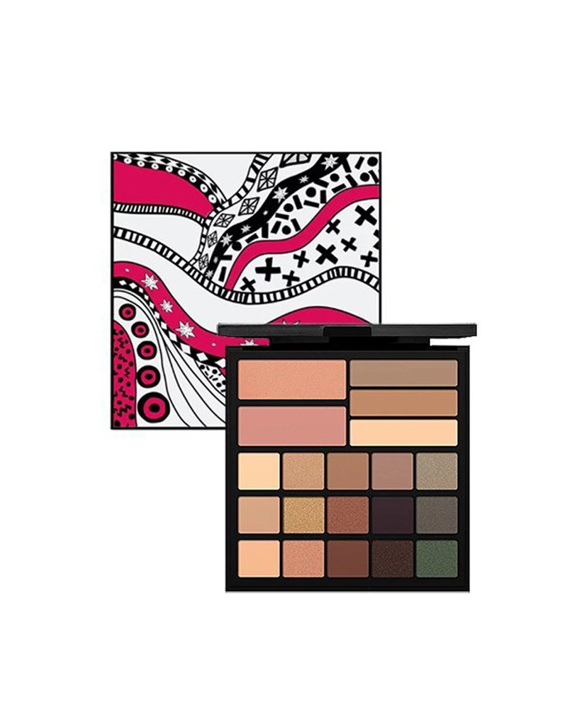 Smashbox - Drawn In, Decked Out Shadow + Contour + Blush Palette