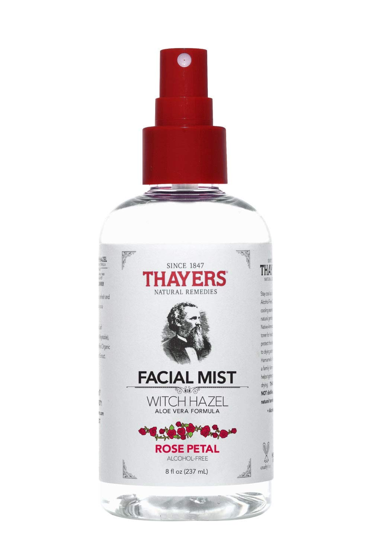 Thayers - Thayers Alcohol-Free Rose Petal Witch Hazel Facial Mist Toner - 8oz
