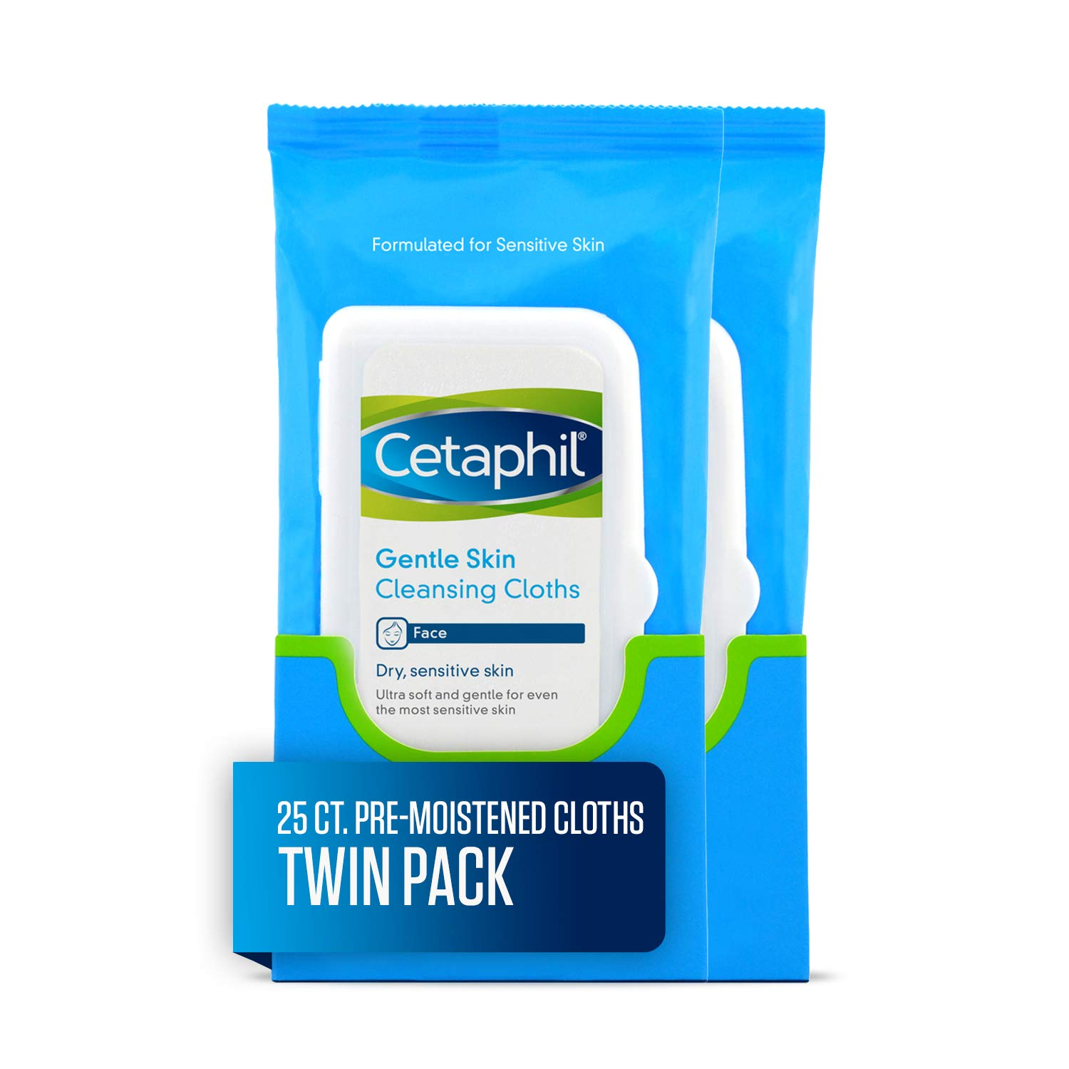 Cetaphil - Cetaphil Gentle Skin Cleansing Cloths, 50 Count